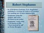 robert stephanus