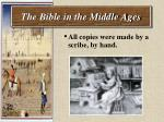 the bible in the middle ages40
