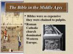 the bible in the middle ages42