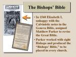 the bishops bible