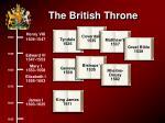 the british throne101