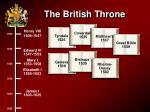 the british throne98