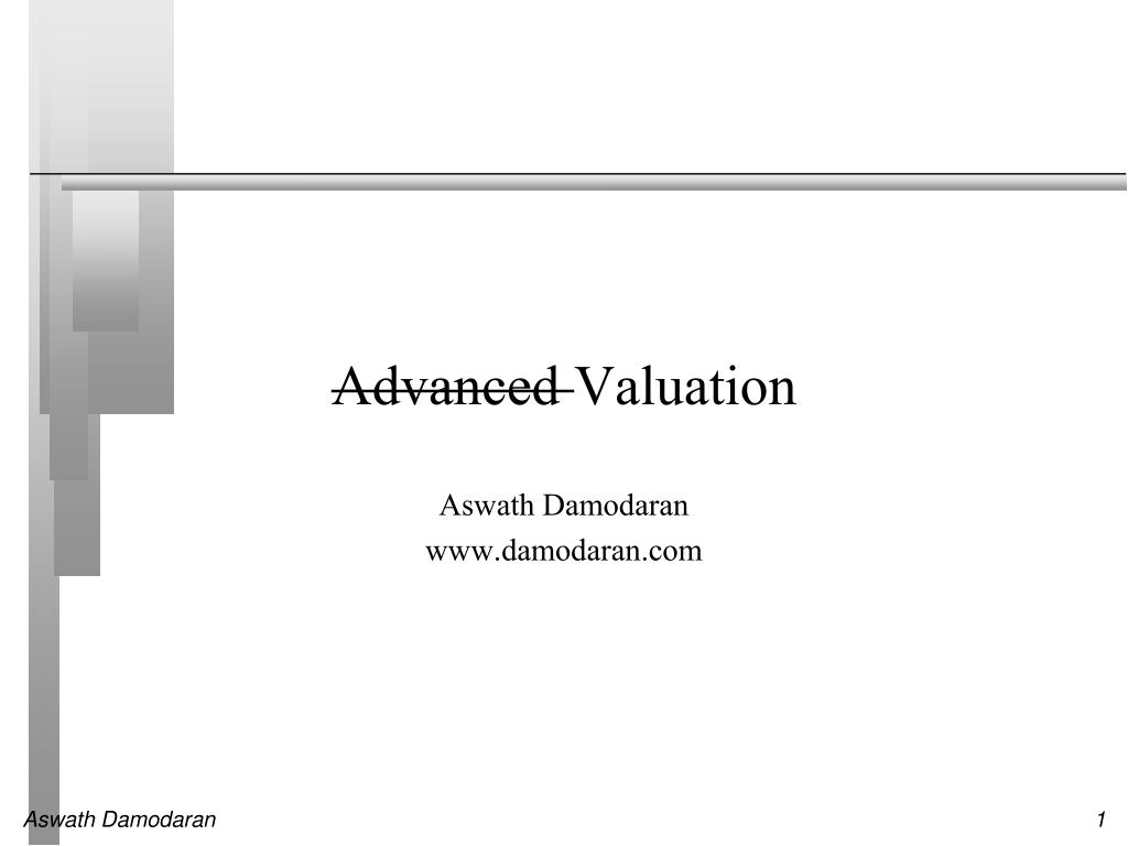 advanced valuation l.