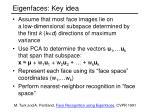 eigenfaces key idea