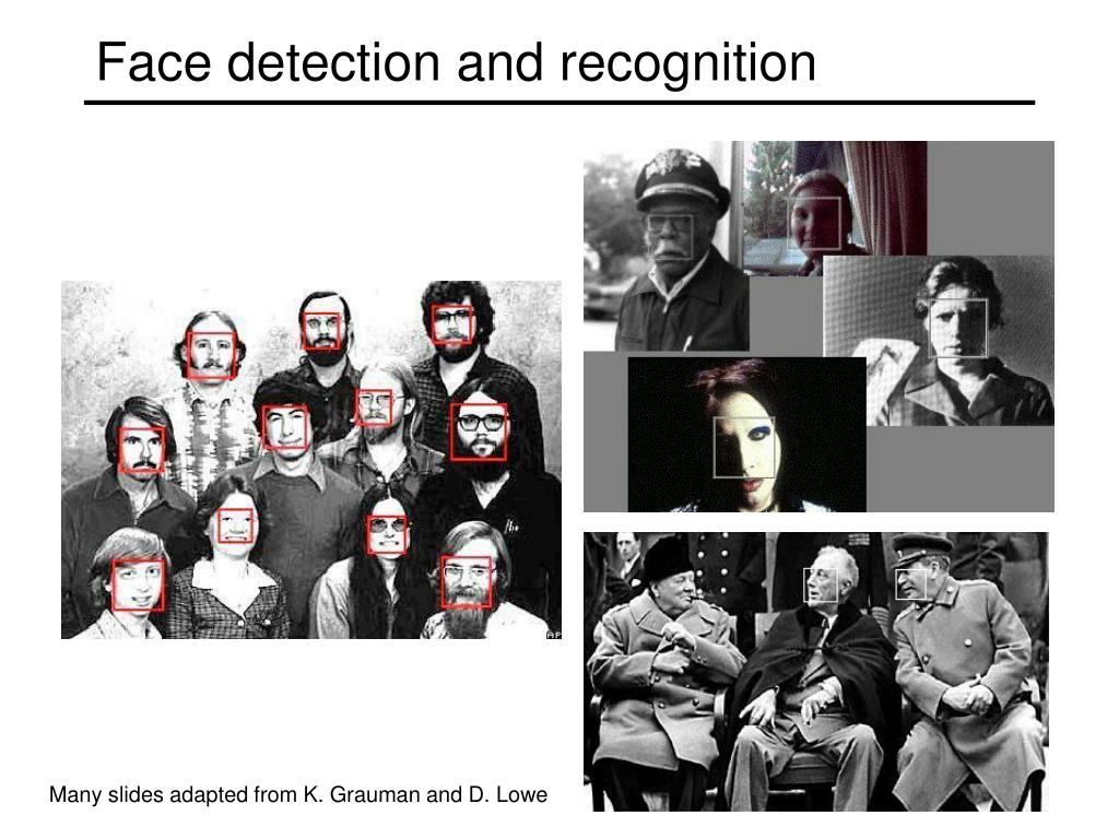 face detection and recognition l.