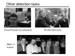other detection tasks
