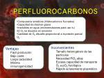 perfluorocarbonos
