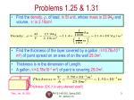 problems 1 25 1 31