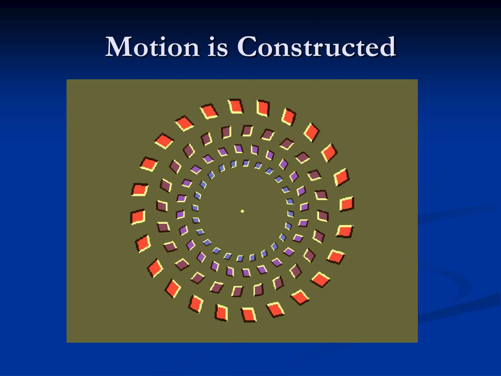 Motion is Constructed