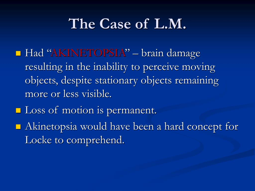 The Case of L.M.
