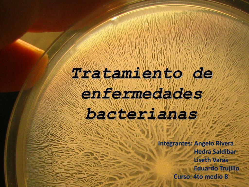 tratamiento de enfermedades bacterianas l.