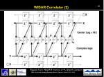 widar correlator 2