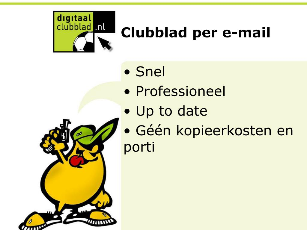 clubblad per e mail l.