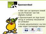 sponsordeal