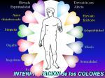 interpretacion de los colores