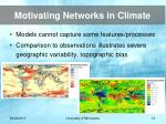 motivating networks in climate10