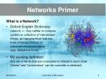 networks primer