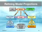 refining model projections