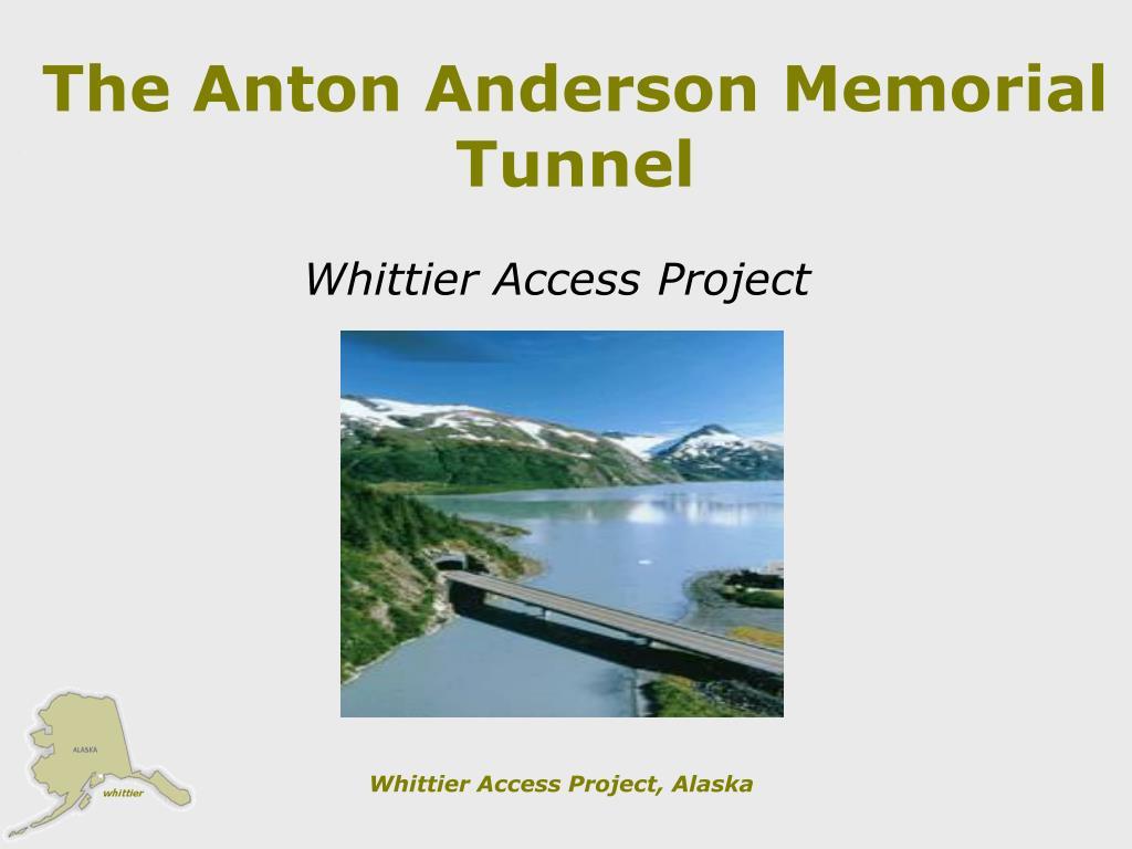 the anton anderson memorial tunnel l.