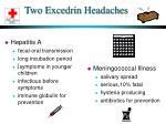 two excedrin headaches