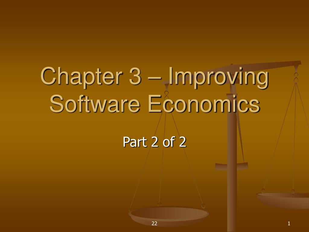 chapter 3 improving software economics l.