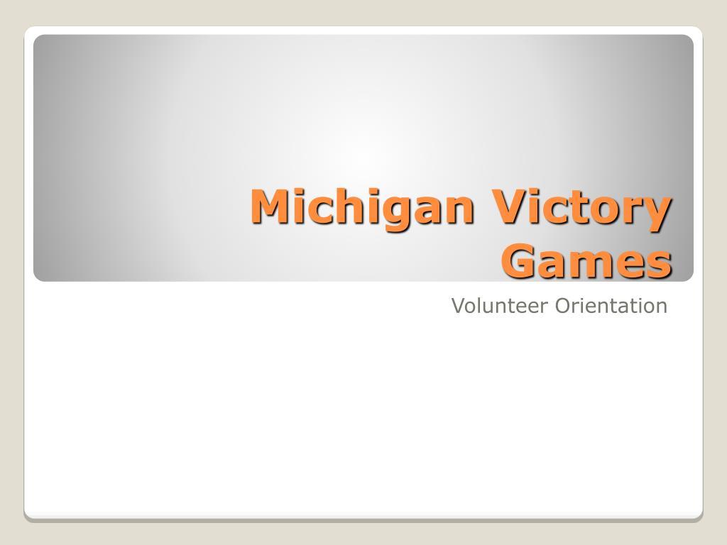 michigan victory games l.