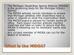 what is the midsa