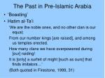 the past in pre islamic arabia8