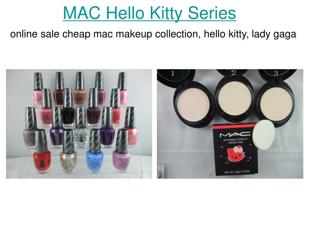 mac hello kitty series l.