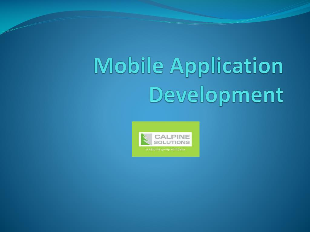 mobile application development l.