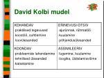 david kolbi mudel19