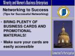 networking to success77