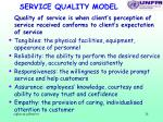 service quality model