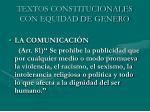 textos constitucionales con equidad de genero25