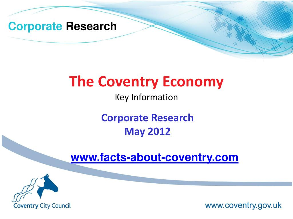 the coventry economy key information l.