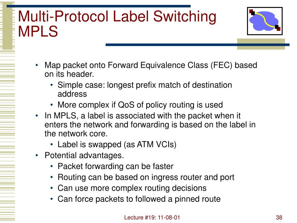 Multi-Protocol Label Switching