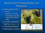 bioterrorism preparedness and response