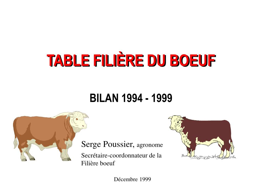 table fili re du boeuf l.