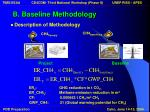 b baseline methodology10