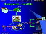 background landfills