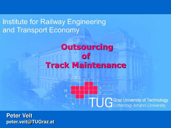 outsourcing of track maintenance n.