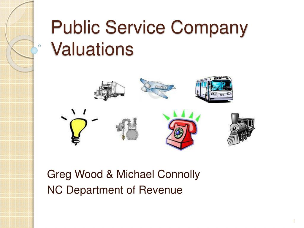 public service company valuations l.