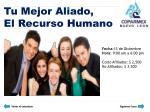 tu mejor aliado el recurso humano