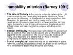 immobility criterion barney 1991