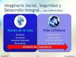 imaginario social seguridad y desarrollo integral sus referentes