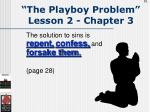 the playboy problem lesson 2 chapter 361