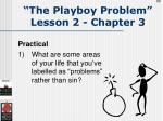 the playboy problem lesson 2 chapter 389