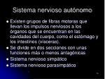 sistema nervioso aut nomo