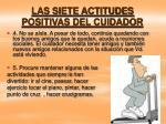 las siete actitudes positivas del cuidador16