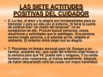 las siete actitudes positivas del cuidador17